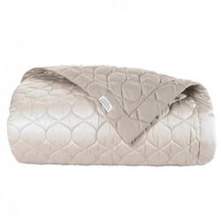 Montaigne Bed cover, L260 x W280cm, gazelle / mink