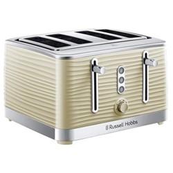Inspire 4 Slice Toaster, beige/ natural