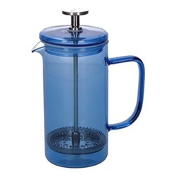 Colour Cafetiere, 3 cup - 350ml, blue