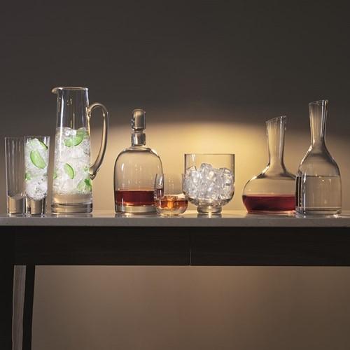 Bar Set of 4 long drink glasses, 250ml, clear