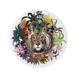 Love Who You Want - Jungle King Charger plate, 33cm, white