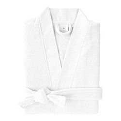 Astree Bath robe, medium, blanc