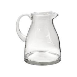 Greenwich Glass jug, H21 x W18.5cm, clear