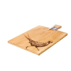 Pheasant Large serving paddle, L50 x W30 x H2cm, oak