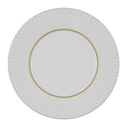 Prism Set of 4 side plates, 21cm, gold porcelain