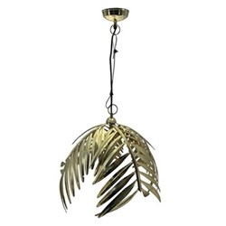 Palm Leaf Pendant light, H22 x D82cm, gold