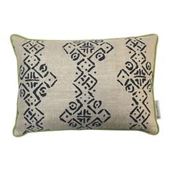 Mali Oblong Cushion, L50 x W35cm, Indigo