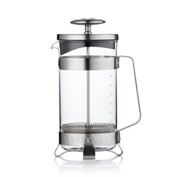 Electric steel 8 cup coffee press, electric steel
