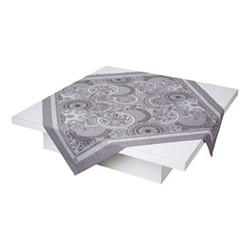 Porcelaine Tablecloth, 175 x 175cm, beige
