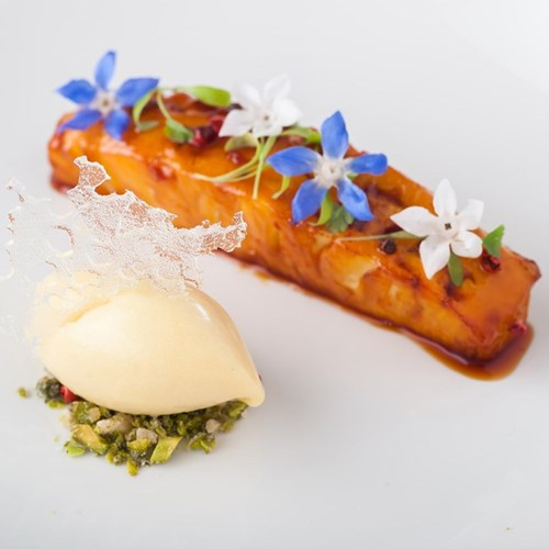 Ten course Michelin-starred tasting menu for two at the Elephant