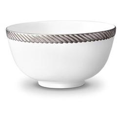Corde Cereal bowl, 14cm, platinum