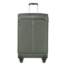 Popsoda Spinner expandable suitcase, 78 x 48 x 31/34cm, grey