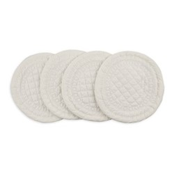 Signature Set of 4 coasters, Dia10.5cm, ivory