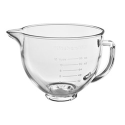 Glass bowl, 4.8 litre