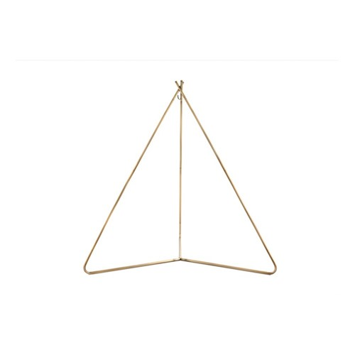 Nester Deluxe TiiPii bed stand, 245 x 214 x 253cm, bronzed stainless steel