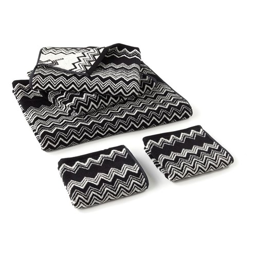 Keith Towels - Black/White