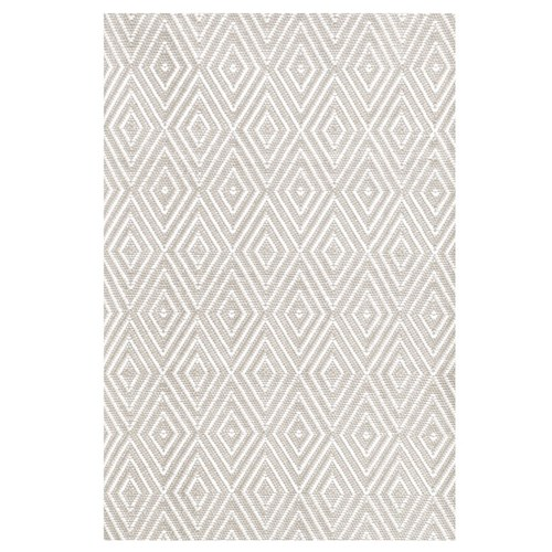 Diamond Platinum White Indoor/Outdoor Rugs