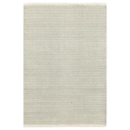 Herringbone Ocean Cotton Rugs