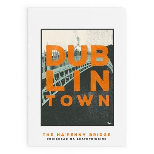 Dublin Town Collection - Ha'Penny Bridge