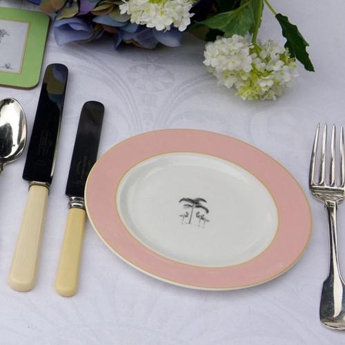 Harlequin Pink Flamingo Dinnerware