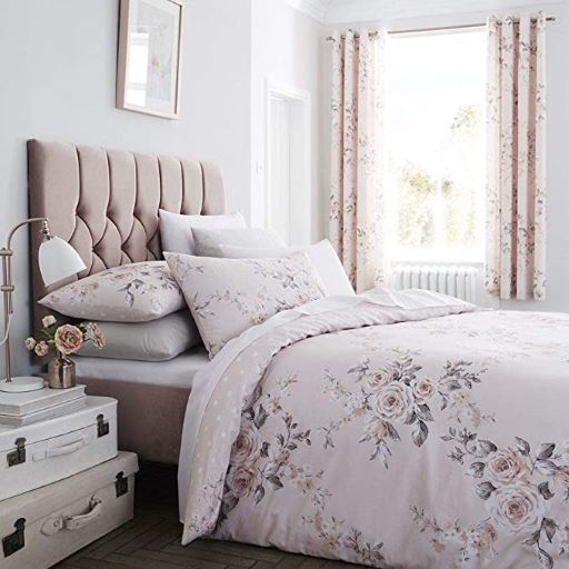 Canterbury Easy Care Blush Bed Linen