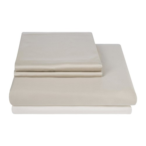 Egyptian Cotton Taupe Bed Linen