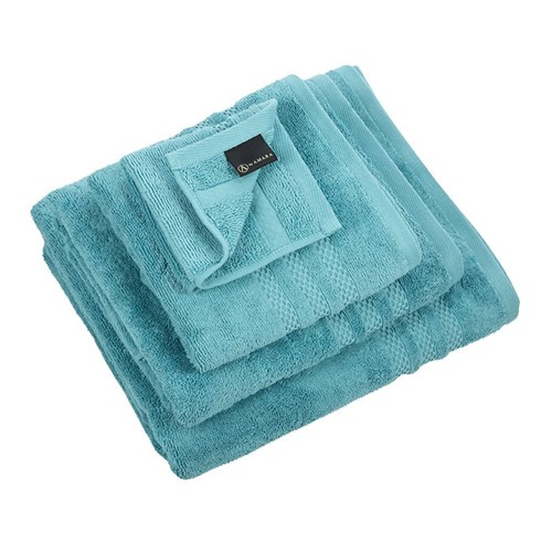 Egyptian Cotton Steel Blue Towels