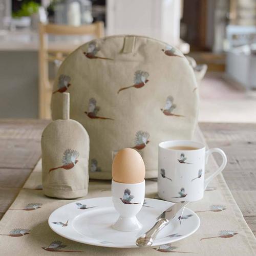 Pheasant Solo Dinnerware