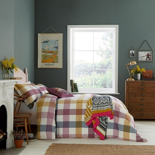 Joules Country Ramble Check Bedding
