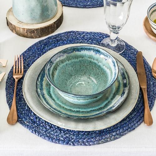 Sausalito Green Dinnerware