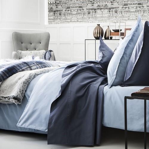 Teo Slate Blue Bed Linen
