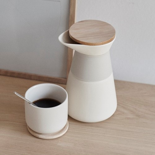 Theo Sand Tea & Coffee Set