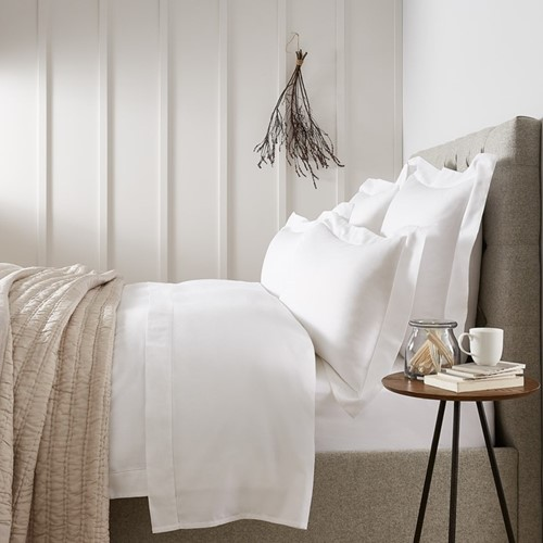 400 Thread Count Richmond White Bed Linen