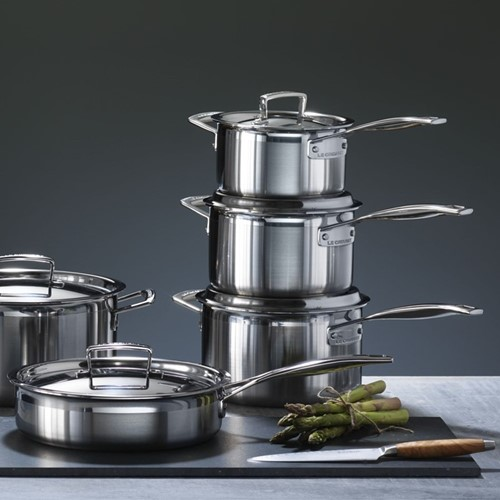 3 Ply Stainless Steel Cookware