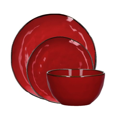 Concerto Dinnerware - Fire Red