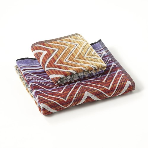Tolomeo Towels - Multi Orange