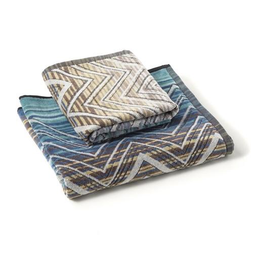 Tolomeo Towels - Multi Blue