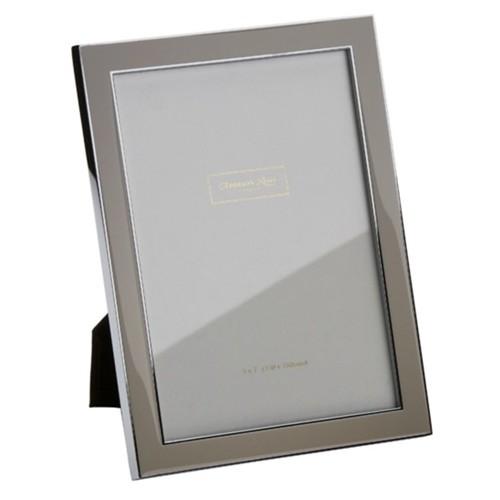 Contemporary Enamel Taupe Frames