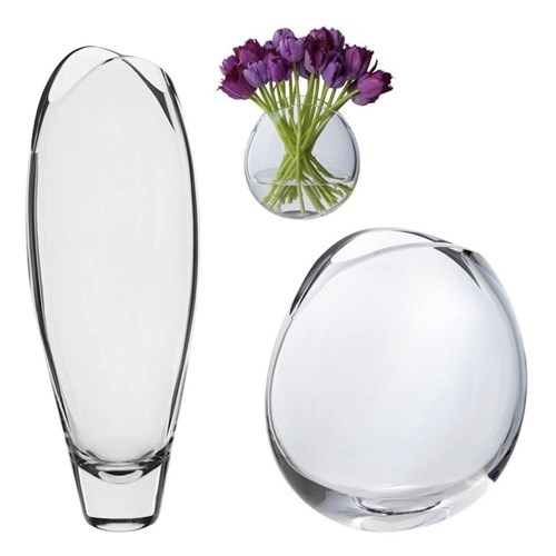 Flora Clear Vases