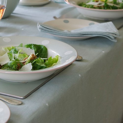 White Spot Table Linen