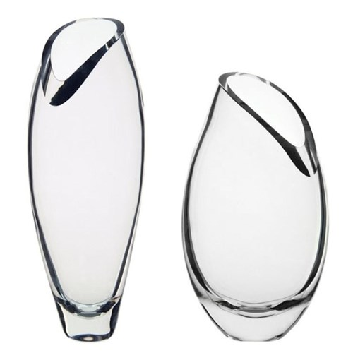 Curve Clear Vases