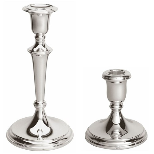 Silver Plate Candleholders