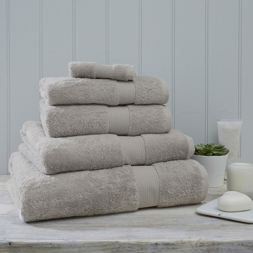 Luxury Egyptian Cotton Pearl Grey Towels